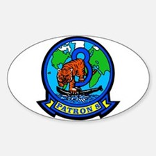 VP 8 Tigers (Blue) Decal