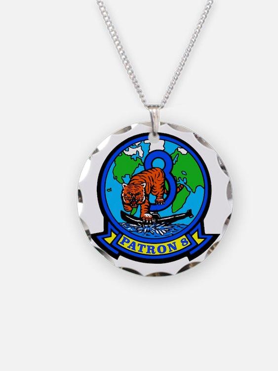 VP 8 Tigers (Blue) Necklace