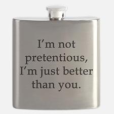 Not Pretentious, Just Better Flask