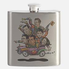 GOP '14 Clownville Brougham Flask