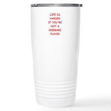 cribbage Travel Mug