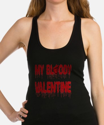 My Bloody Heart Valentine Racerback Tank Top
