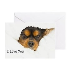 I Love You Cavalier King Charles Spaniel Greeting