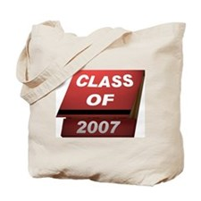 Class of 2007 Matches Tote Bag