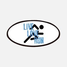 Live, Love, Run Patches
