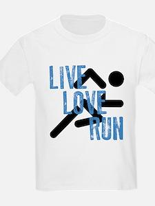 Live, Love, Run T-Shirt