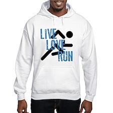Live, Love, Run Hoodie