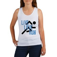 Live, Love, Run Tank Top