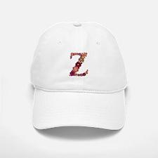 Z Pink Flowers Baseball Baseball Baseball Cap