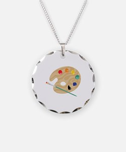 Painters Palette Necklace