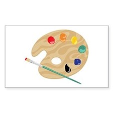 Painters Palette Decal