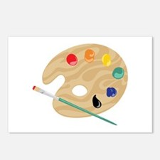 Painters Palette Postcards (Package of 8)