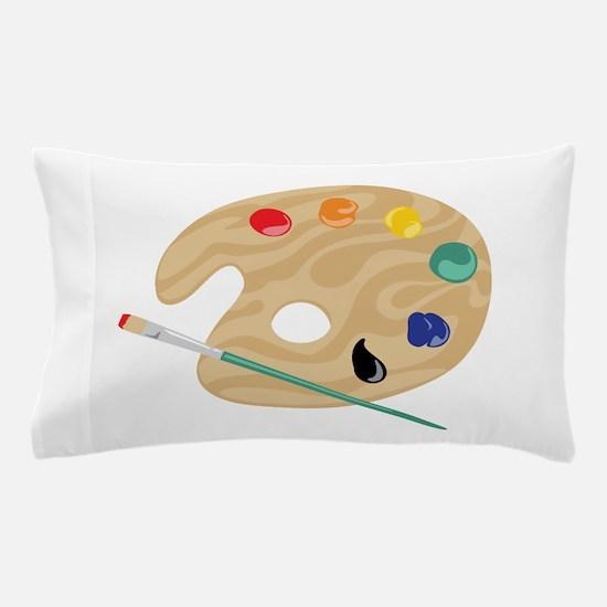 Painters Palette Pillow Case