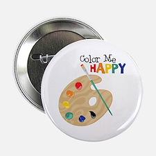 """Color Me Happy 2.25"""" Button"""