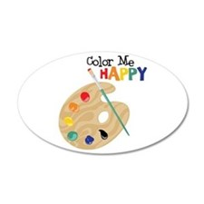 Color Me Happy Wall Decal