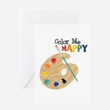 Color Me Happy Greeting Cards