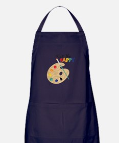 Color Me Happy Apron (dark)