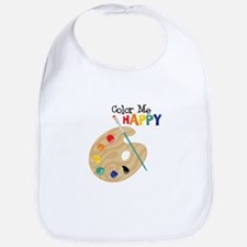 Color Me Happy Bib