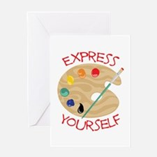 Express Yourself Greeting Cards