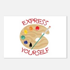 Express Yourself Postcards (Package of 8)