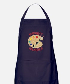 Express Yourself Apron (dark)