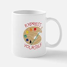 Express Yourself Mugs