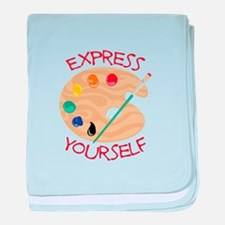Express Yourself baby blanket