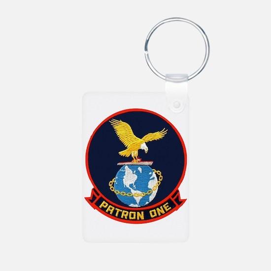 VP 1 Screaming Eagles Keychains