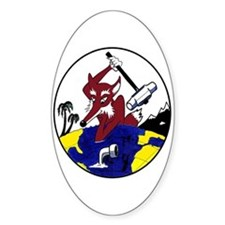 VP 5 Mad Foxes Oval Decal