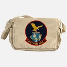VP 1 Screaming Eagles Messenger Bag