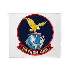 VP 1 Screaming Eagles Throw Blanket