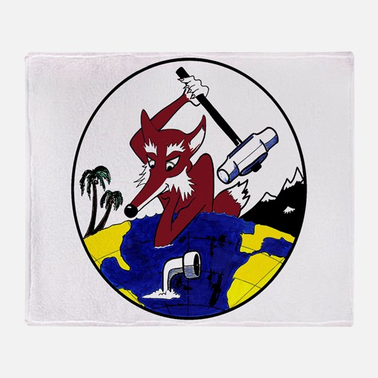 VP 5 Mad Foxes Throw Blanket
