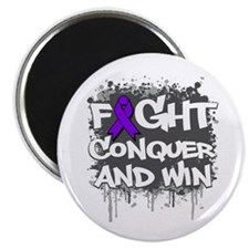 "Cystic Fibrosis Fight 2.25"" Magnet (10 pack)"