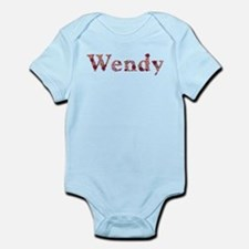 Wendy Pink Flowers Body Suit
