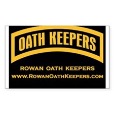 Rowan Oath Keepers Decal