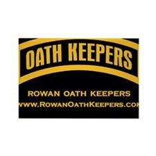 Rowan Oath Keepers Magnets