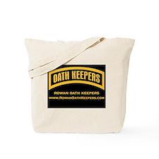 Rowan Oath Keepers Tote Bag