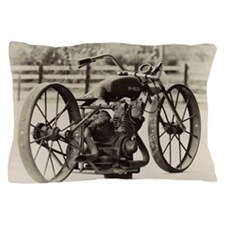 Cool Vintage motorcycle Pillow Case