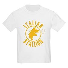 Italian Stallion (yellow prin T-Shirt