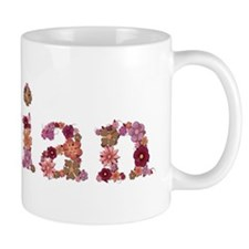 Vivian Pink Flowers Mugs