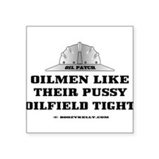 Oilfield Tight Rectangle Sticker