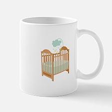 Crib with Sky Mobile Mugs