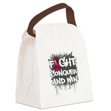 Amyloidosis Fight Canvas Lunch Bag