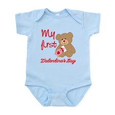 My First Valentines Day Infant Bodysuit