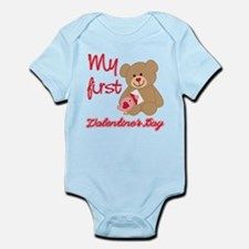 My First Valentines Day Infant Bodysuit