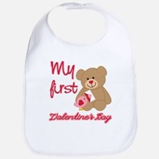 My First Valentines Day Bib