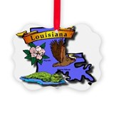 Louisiana Picture Frame Ornaments