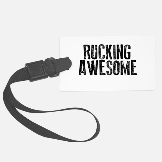 Rucking Awesome Luggage Tag