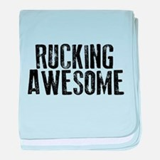 Rucking Awesome baby blanket