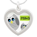 PEACE Owls Necklaces